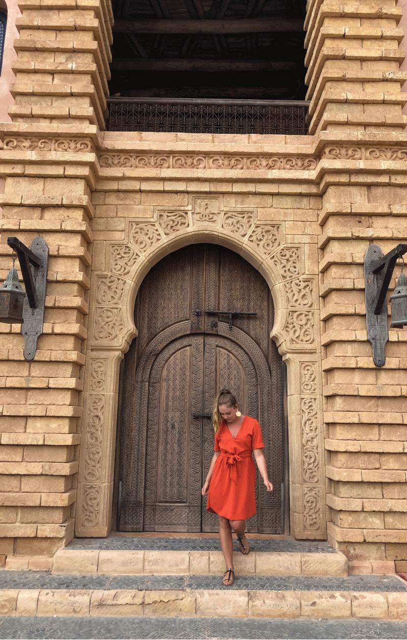 Chloe en voyage au Maroc